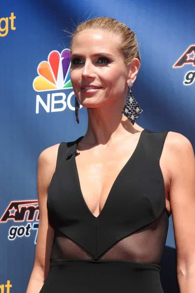 The actress kept it prim and proper with her neatly-done high bun during the America's Got Talent Photocall held at Dolby Theatre, February 8, 2015.