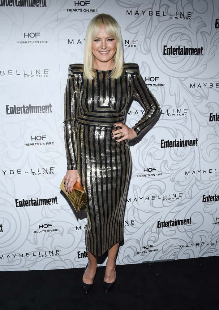 Malin Akerman exhibits nothing but elegance and beauty with this medium-length hairstyle with curtain bangs. This style is worn during the Entertainment Weekly Pre-SAG Awards Celebration last  January 28, 2017.