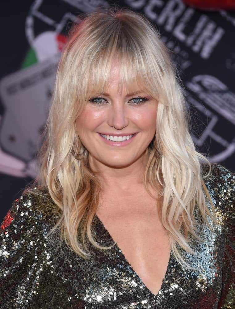 Malin Akerman arrived for the 'Spider-Man: Far From Home' World Premiere last June 26, 2019 in Hollywood with her wispy bangs and loose tousled hair.