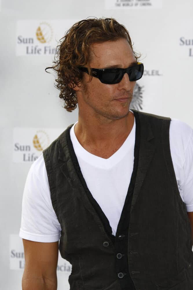 "The actor looking all confident and preppy with his tousled curls during the ""IRIS, A Journey Through the World of Cinema by Cirque du Soleil"" premiere last September 25, 2011."