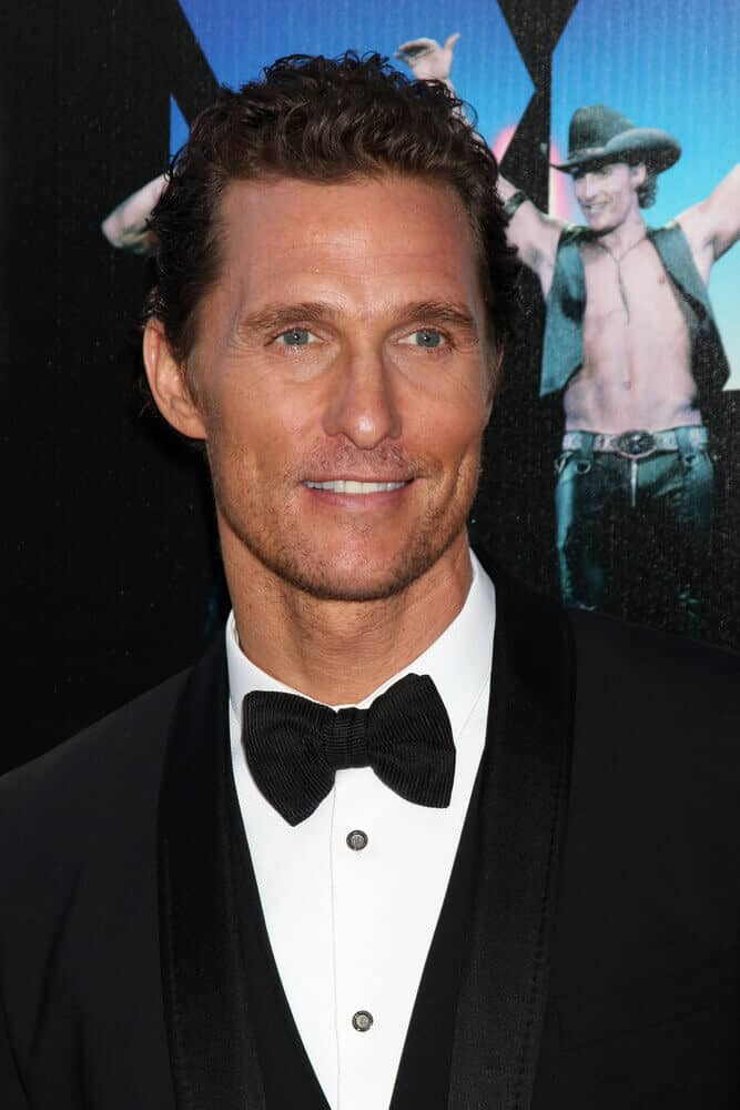 "Probably one of the actor's trademarks when it comes to style is his waves in a crew cut. This photo was taken last June 24, 2012 at the Magic Mike"" LAFF Premiere."