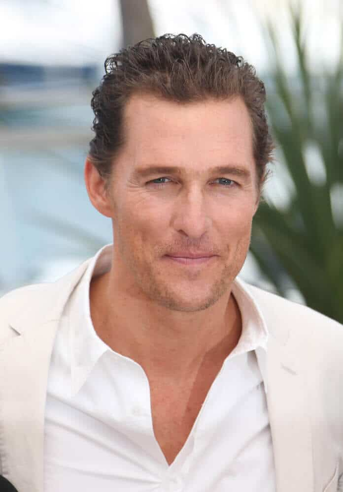 The actor's semi-brushed waves bring out all the freshness in him as he posed for a picture at the 65th annual Cannes Film Festival, May 2012.
