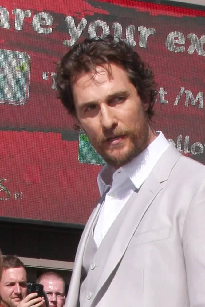 Matthew McConaughey was sexy and charming when he showed up with a tousled hairstyle and bearded look at his Hollywood Walk of Fame Star Ceremony at the Hollywood & Highland last November 17, 2014 in Los Angeles.