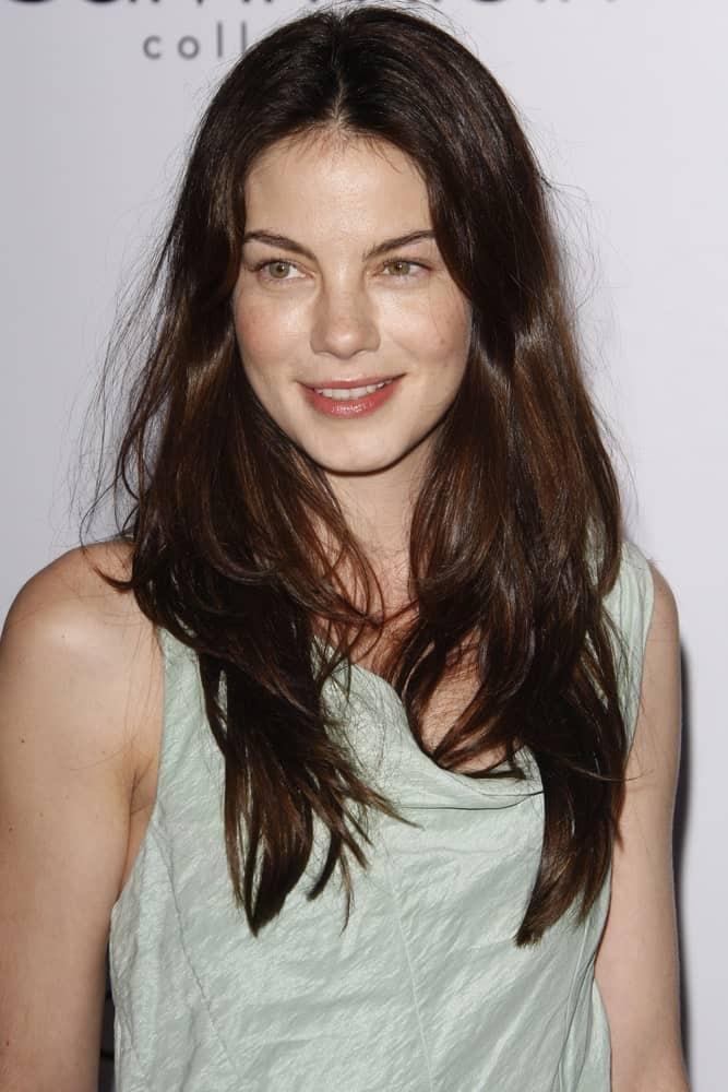 Michelle Monaghan was seen at the Calvin Klein Collection & LA Nomadic Division 1st Annual Celebration For L.A. Arts Monthly + Art LA Contemporary last January 28, 2010. She had a youthful glow to match her tousled and relaxed medium-length hair.