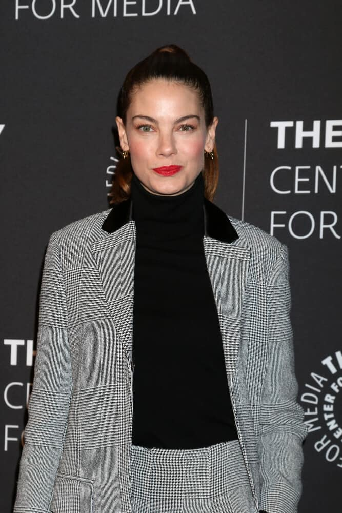 "A high fashion getup and a neat, high ponytail created this expensive look worn at the ""The Path"" Season 3 Premiere Screening last December 21, 2017."