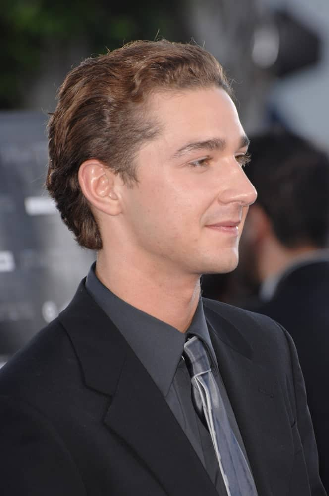 The actor was at the Los Angeles premiere of his new movie