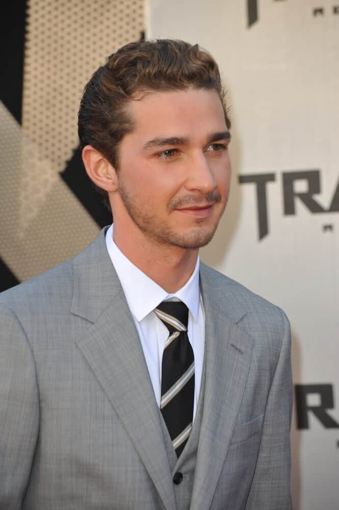 Shia Labeoufs Hairstyles Over The Years Headcurve