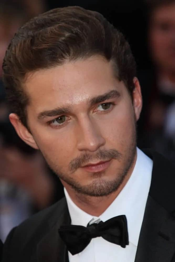 The actor's hair was elegantly styled during the 63rd Cannes Film Festival of 2010 that has a sophisticated and polished pompadour finish to appear as if his waves were in mid-motion.