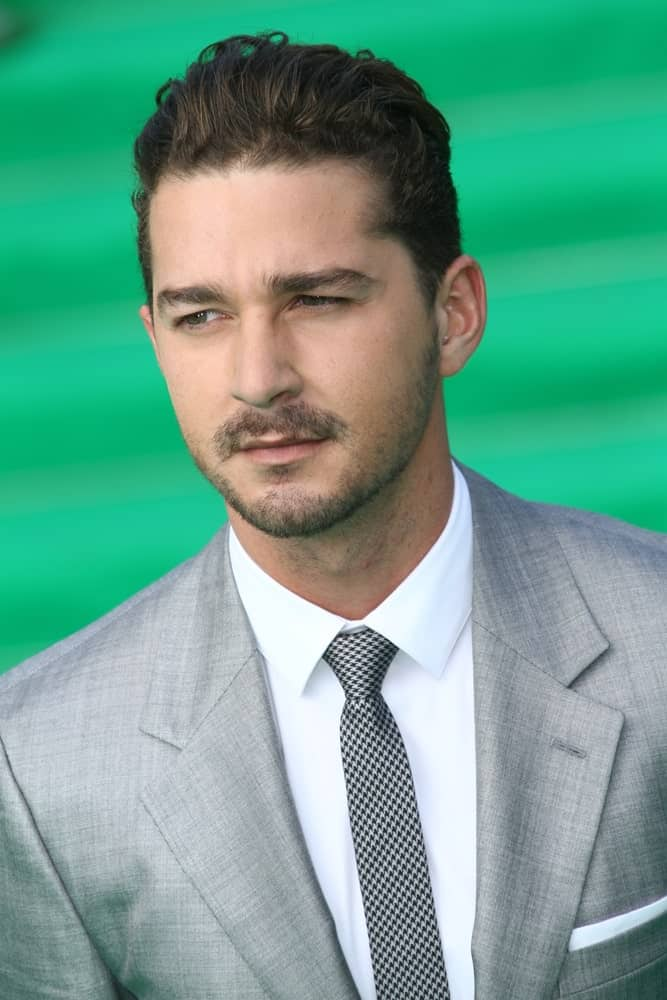 Shia LaBeouf arrived at the premiere for the 'Transformers: Dark of the Moon' during the 33rd Moscow Film Festival at Pushkinskiy Theatre last June 23, 2011 in Moscow, Russia. His dark brown curls were brushed up to match his neat beard.