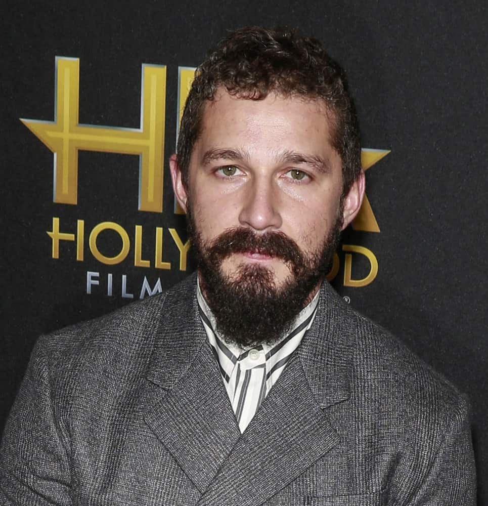 Last November 03, 2019, Shia Labeouf attended the 23rd Annual Hollywood Film Awards at The Beverly Hilton Hotel wearing a dark gray suit to match his short curly hair and thick beard.