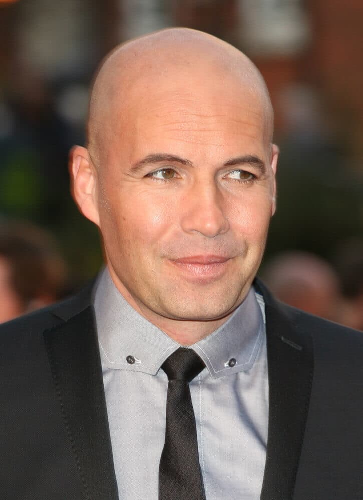 Last March 2012, Billy Zane attended the 'Titanic 3D Film' premiere with his chic getup and a nicely-done shaved head.