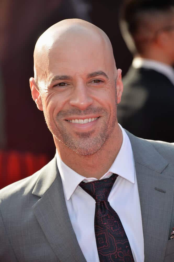 Last June 2015, Chris Daughtry looked dapper at the world premiere of 'Ant-Man' with his shaved head, gray suit and patterned tie.