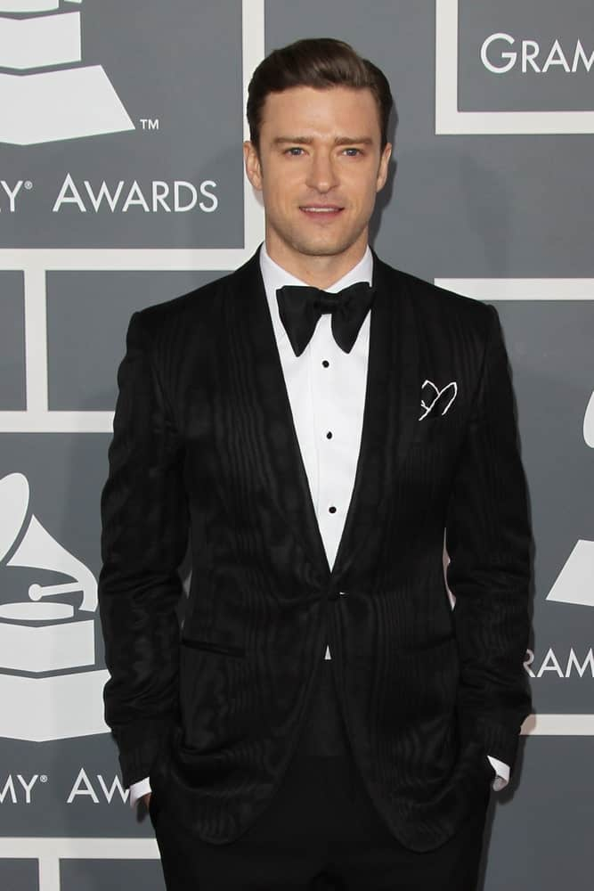 Justin Timberlake looked so classy and confident with his polished pompadour hairstyle paired with a smooth clean shave at the 55th Annual Grammy Awards last February 10, 2013.