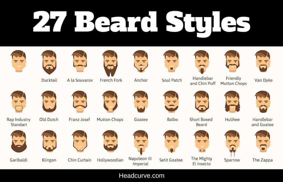 Wondrous 27 Most Popular Types Of Beards Schematic Wiring Diagrams Phreekkolirunnerswayorg