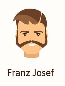 Franz Josef beard style
