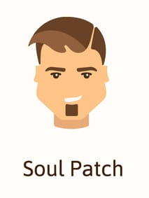 Soul patch diagram
