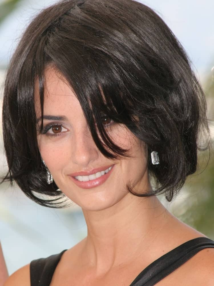 Penelope Cruz chopped off her volumized, dark locks into a bob during the 58th International Cannes Film Festival on May 21, 2005.