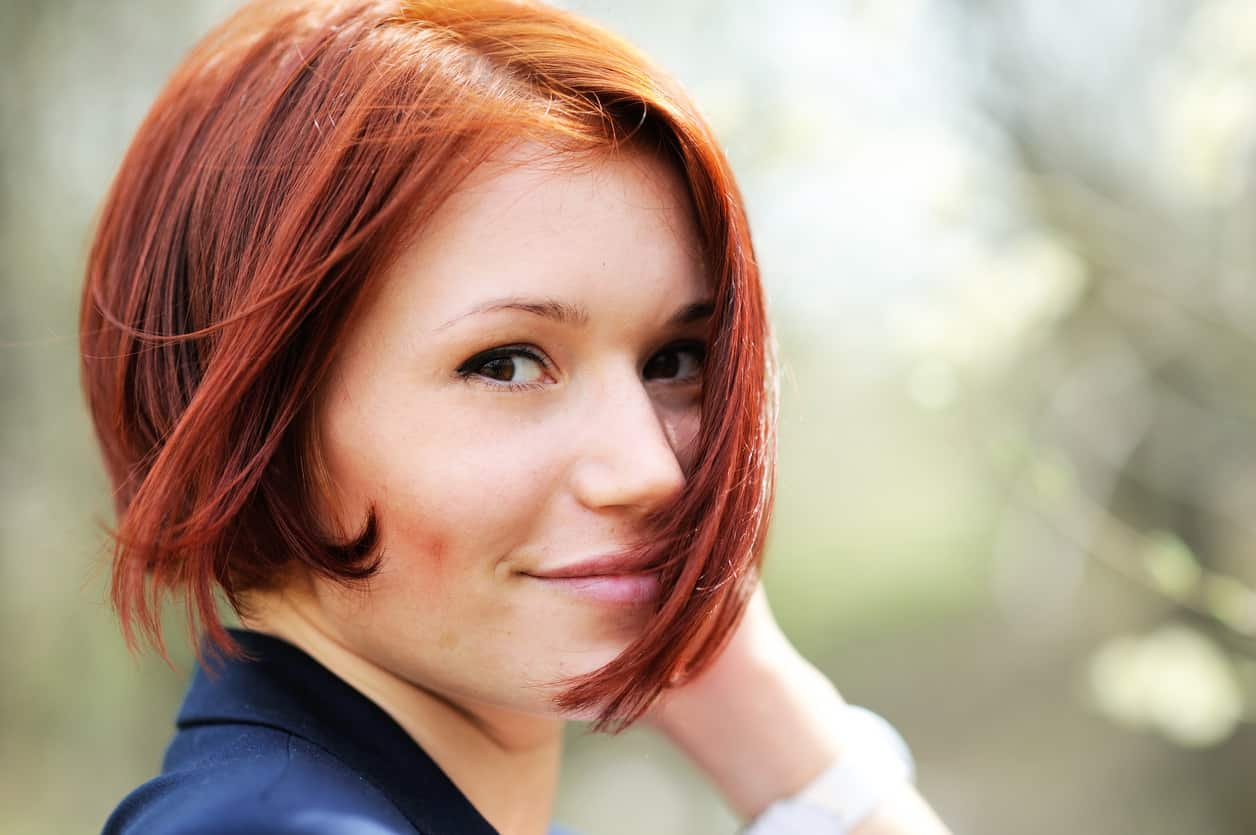 25 Short Red Hairstyles For Women Photos