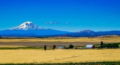 Mt .Adams near Yakima, Washington.