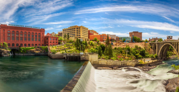 View of Spokane Washington sept6