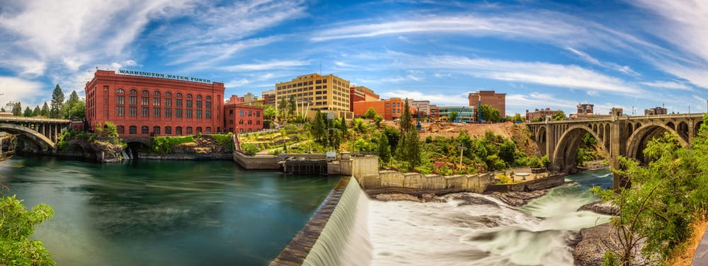 View of Spokane Washington sept6