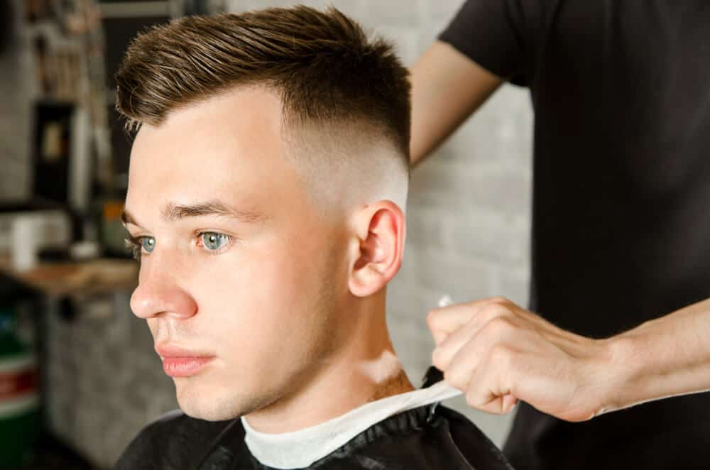500 Fade Haircut Styles For Men In 2018