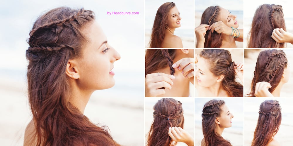 Greek Hair Braid Tutorial 7 Simple Steps