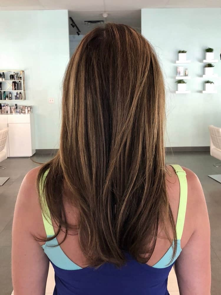 Babylights hair highlights for women.