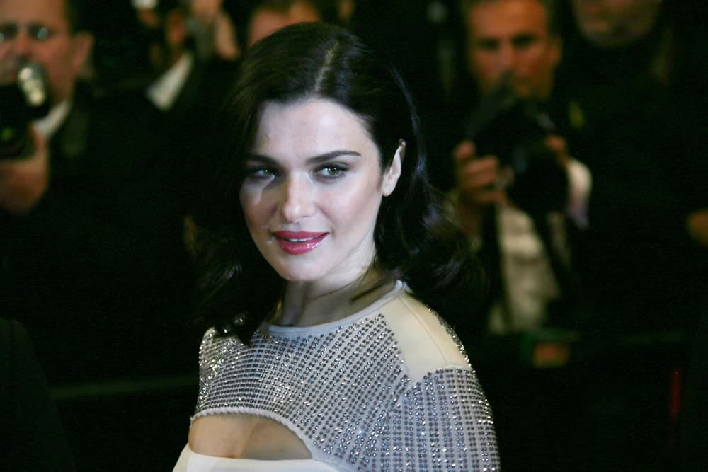 Rachel Weisz arrived for the 'Lobster' Premiere on May 15, 2015, in a sexy sequined gown and side-parted bob.