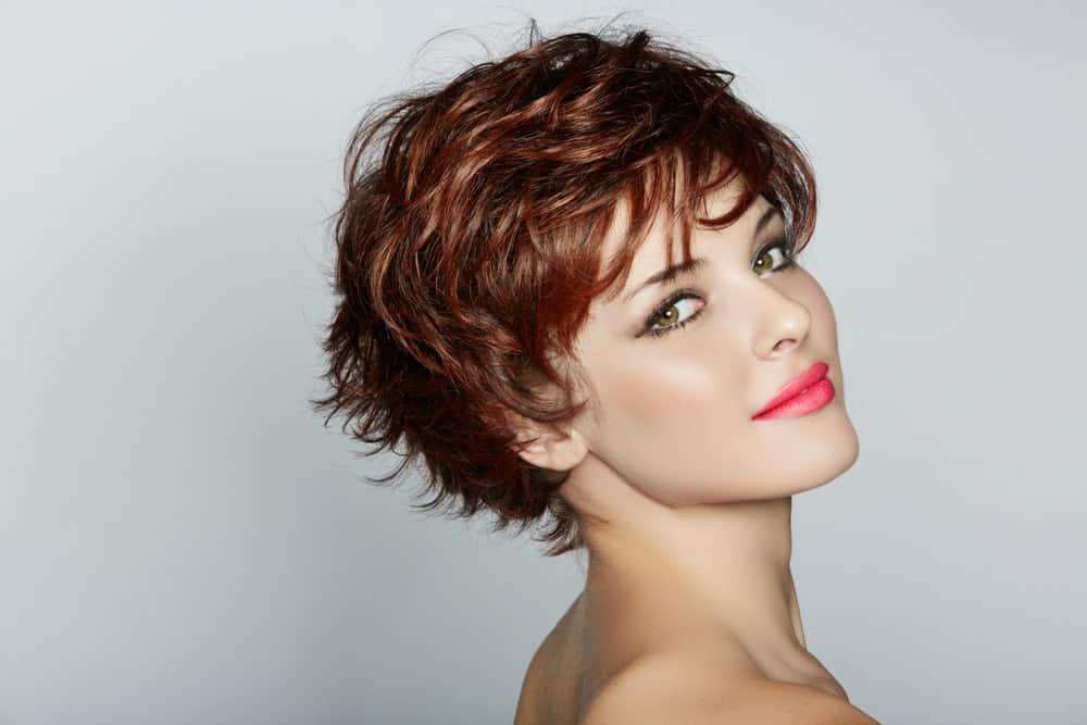 Ultra-layered crop haircut.