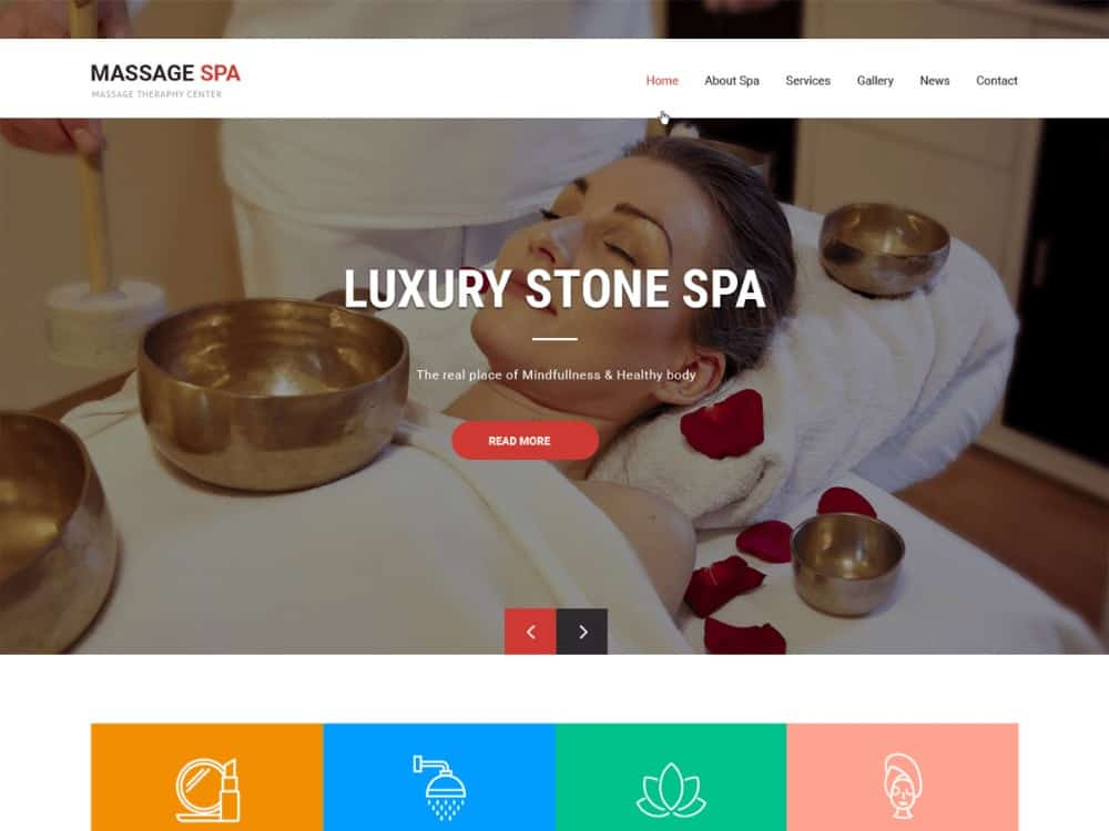 Massage Spa WP theme