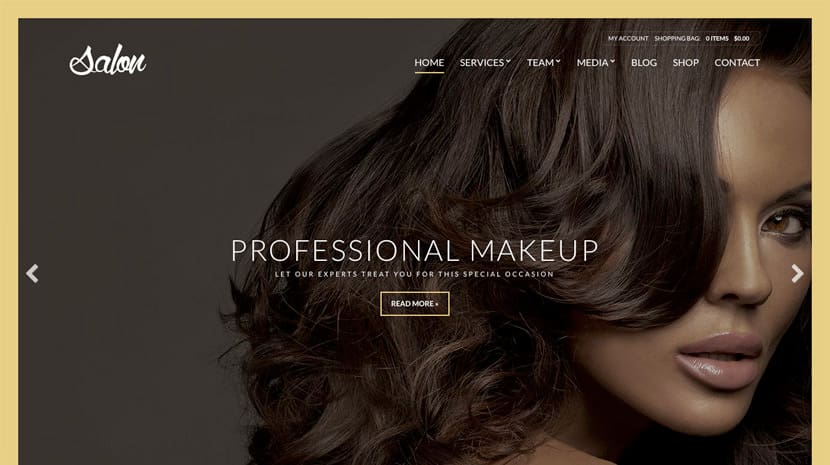 Salon theme by CSSigniter