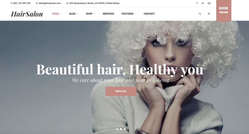 HairSalon WP theme