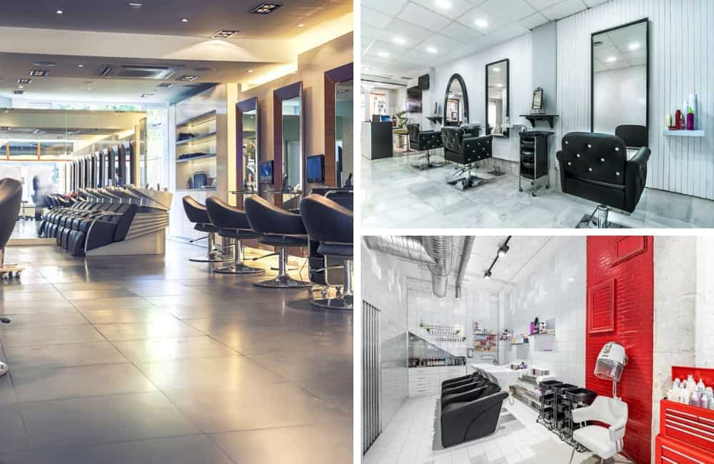 Hair Salon interior designs