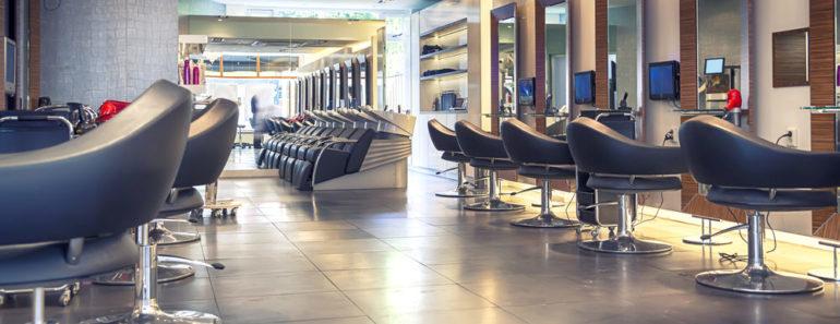 Interior of a hair salon dec5
