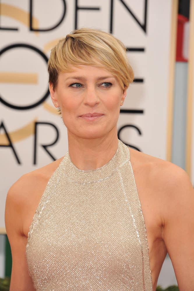 Robin Wright 2014 short hair