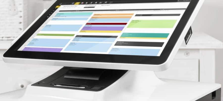 Salon Iris business software