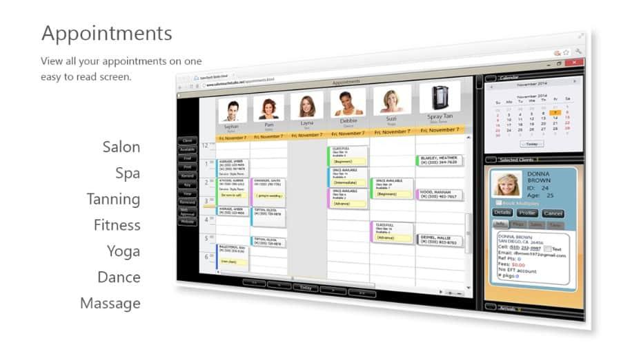 Salon Touch business software