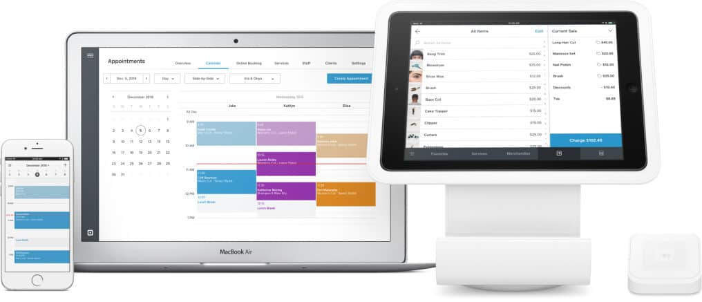 Square Appointments business scheduling software