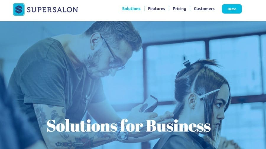 SuperSalon business software for hair salons