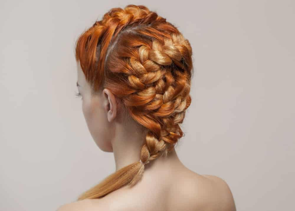 Asymmetrical French braids will give you a modern, edgy look that will have everyone turning their heads!