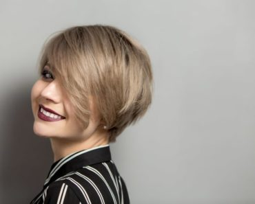 Woman with Pixie Haircut