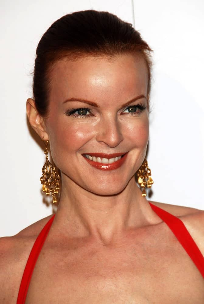 If you want to go even shorter, you can always rock a buzzcut like Marcia Cross does here. It's edgy, chic, and probably requires significantly less effort to maintain!
