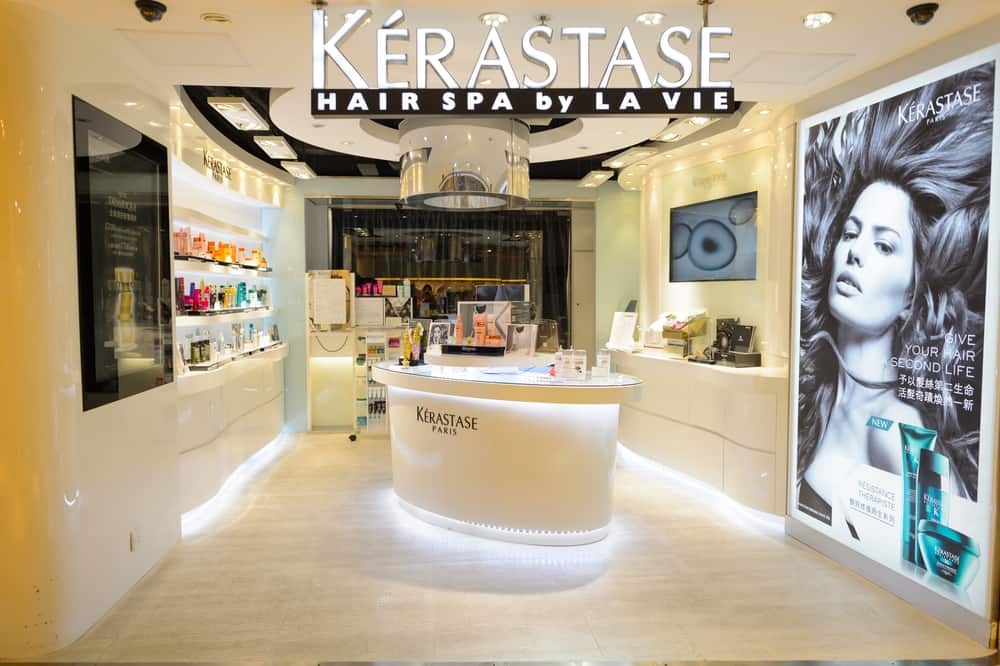 A photo of Kerastase hair salon and spa