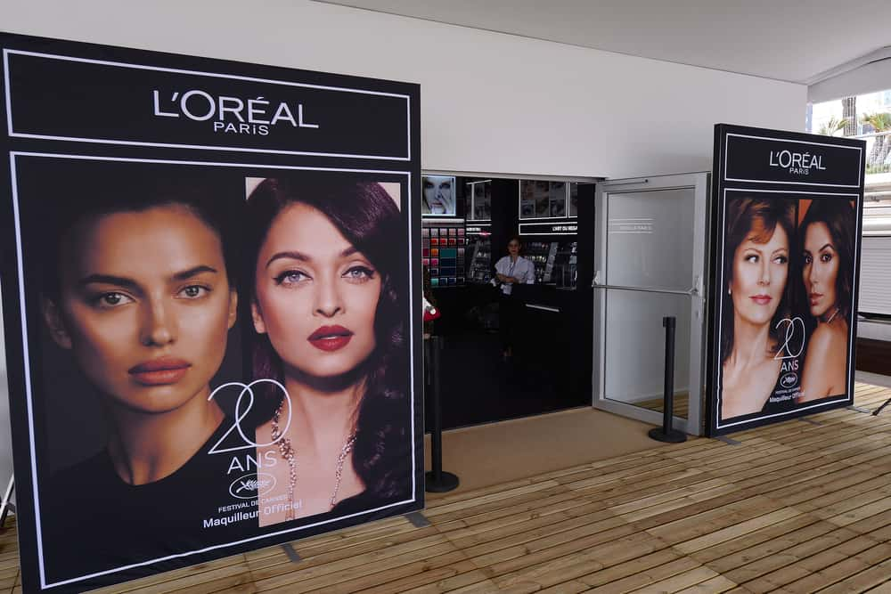 A makeup studio of L'Oreal Paris