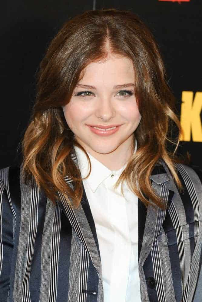 Chloe Grace Moretz attended the photocall to launch the movie,