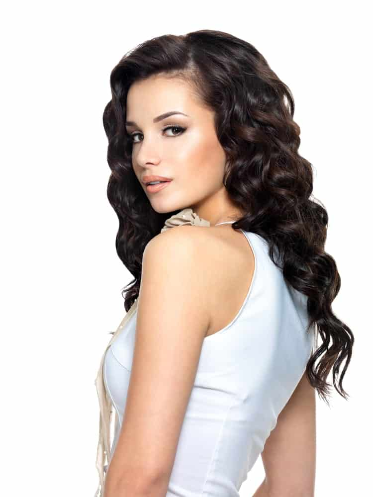 If you are a fan of proper and tight curls that hold in place and shape, this is the best hairstyle for you.