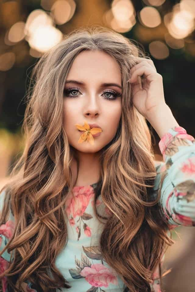 You can add some honey or blond highlight to your auburn hair to make it stand out even more. The wavy curls will also look really attractive and fun.