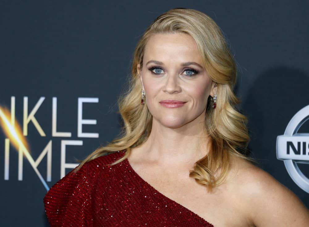 Warm and cool shades of blonde make this ombre a little subtle. Reese Witherspoon has kept her roots a pale blonde, which then flows down naturally to warmer tones of honey gold. The effect gives her a sun-kissed, high-impact look.
