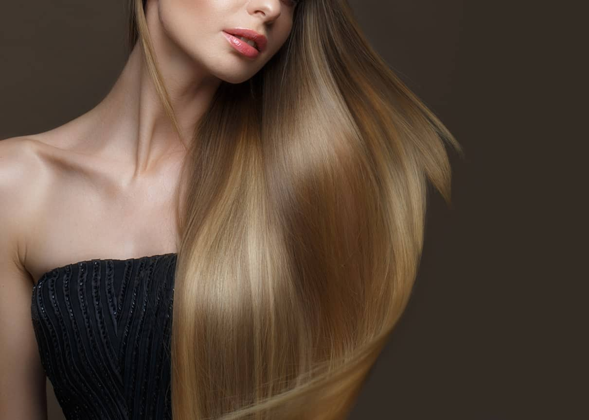 smooth hair